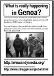 What is happening in Genoa? PDF poster