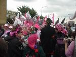 DSEi Pink Crowd Picture