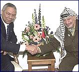 Powell describes talks with Arafat: ''useful and constructive''