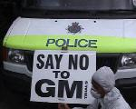 Police Say NO to GMO