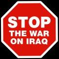 stop the war on iraq picture