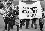 Nottingham had it's Mayday - Stop the War demo on Saturday.