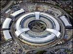 GCHQ from the air - is it a donut or a flying crop circle?