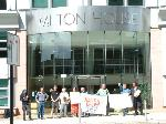 Milton House Protest