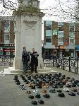 A pair of boots for each dead UK soldier