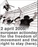 2dn April - European Day of Action