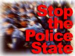 Draconian Terror Laws set us up for police statehood