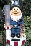 """Old Bill close in on garden gnome"" - see NW website"