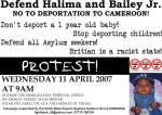 Defend Halima and Bailey Jr!