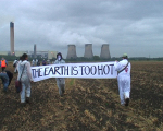 day of action against Drax coal fired power station