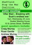 Craig Murray: After Blair -- breaking with Bush's Endless War