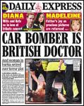 Daily Express: Car bomber is British Doctor