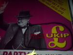 Churchill vents his frustration at being exploited by UKIP