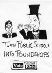 Turn Public Schools into Pound Shops?