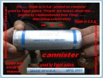 US-!CANNISTER! used by Egypt-Police