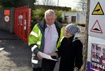 'Stop supporting the occupation' the message in letter handed to Veolia manager