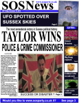 Taylor wins Police and Crime Commissioner 2012