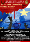 Criminal EU Elites poster