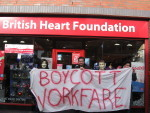 Workfare and the British Heart Foundation Harborne Birmingham