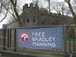 Banner at Cardiff Castle