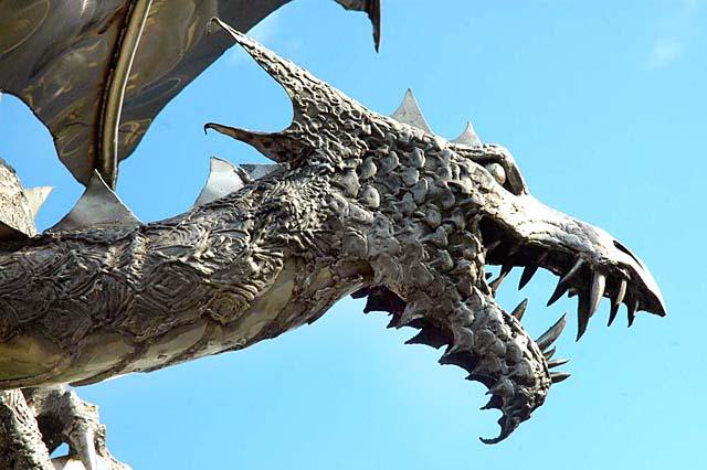 Dragon discovered in Sneinton - UK Indymedia