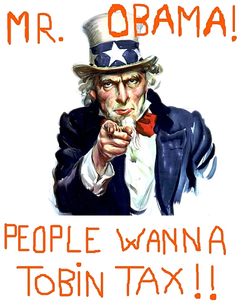 Uncle Sam want Tobin Tax