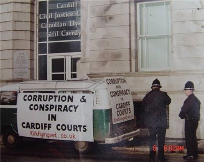 Conspiracy and Corruption cahrges Cardiff Courts Wales United Kingdom