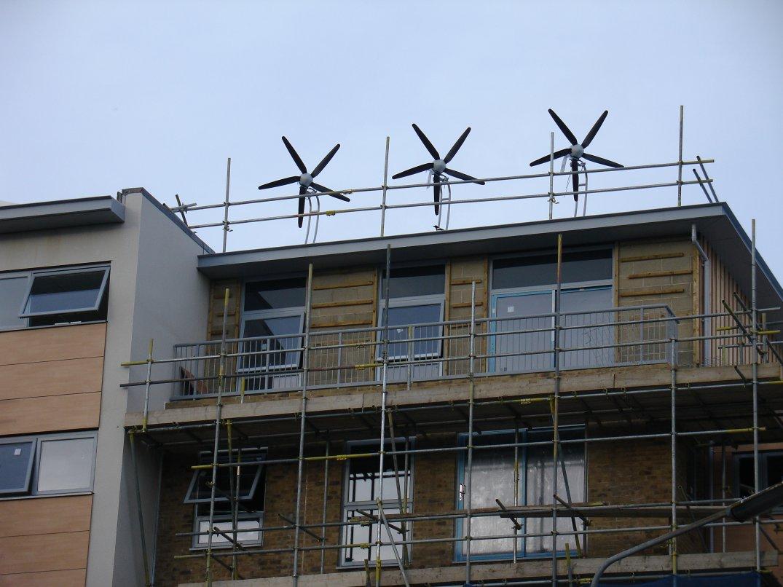 Wind Turbines On Buildings Uk Indymedia