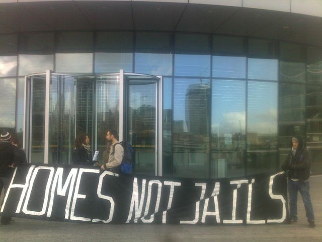 Homes Not Jails.